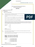 Evaluaciones Inter Examen Nacional