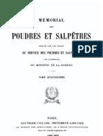 Mémorial des poudres et salpêtres, tome 14, 1906-1907 - France