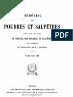 Mémorial des poudres et salpêtres, tome 16, 1911-1912 - France