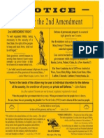 2nd Ammendment Flyer
