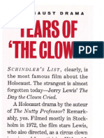 """Tears of 'The Clown' (featurette on """"The Day the Clown Cried"""")"""