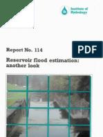 i h 114 Reservoir Flood Estimation