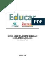 Material de apoio - Gestão Ambiental e Responsabilidade Social das Organizações