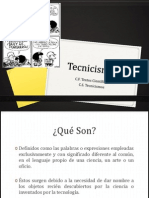 Tecnicismos