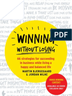Winning Without Losing Preorder Gift Book