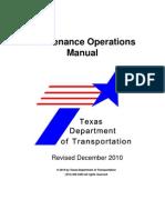 Airport Maintenance Operations Manual-TEX-Usa