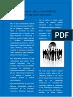 importancia de las relaciones PÚBLICAS dentro del mundo empresarial
