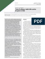 Suicidi e Omicidi Guardie Giurate Giornale Italiano Medicina Del Lavoro Ergonomia Clerici