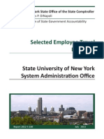 State audit of SUNY travel expenses