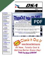 Newsletter 2009 06 Jun