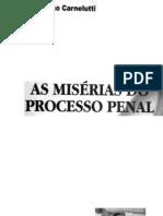 As Miserias Do Processo Penal 1-29