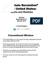 Shale Myths and Realties