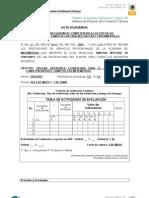 Acta Reunion de Academia Analisis Integral 2