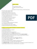 EJERCICIOS DE PUNTUACIÓN