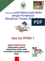 Tatalaksana Malaria Pada Balita Dg MTBS
