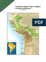 MOCHILÃO BOLIVIA-CHILE-PERU 2012