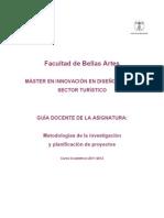 Metodologia Investigacion Desarrollo Proyectos 2011-12