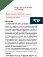 Fisiopatologia de La Diabetes Mellitus Tipo 1 AM Gomez