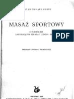 Masaż sportowy - R. Kirsch