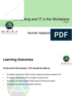 3 CITW Human Aspects of Computing