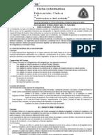 Ficha Informativa Estructura Del Estado Peruano