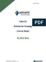 01 CIMA E3 Notes  -  Enterprise Strategy - Chapters 1 & 2(1).pdf
