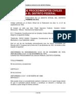 Código de Procedimientos Civiles del D.F.