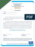 Carta de Invitacion Victor Seijas