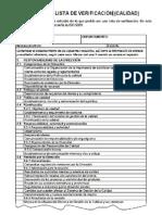 Ejemplo Lista Verificacion en ISO9001