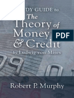 Study Guide to the Theory of Money and Credit by Mises