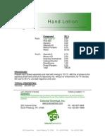 Hand Lotion - 117