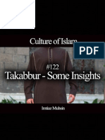 122 Takabbur - Some Insights