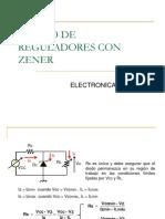 2.10 DISEÑO DE REGULADORES CON ZENER