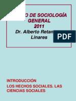 CURSO DE SOCIOLOGÍA GENERAL.2011