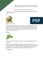 especias en Barranca Grande