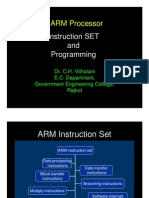 Arm Instruction Prgoramming