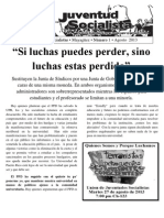 Boletín de la Unión de Juventudes Socialistas (UJS)  (agosto de 2013) (Mayagüez, P.R.)