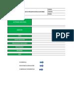 Formato presentación de informe