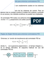 Sintonía de PID por Ziegler-Nichols