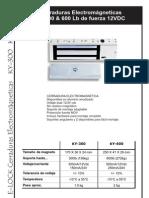 CERRADURAS ELECTROMAGNETICAS-300-600