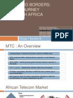MTC's Journey Through Africa