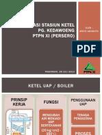 Presentasi Stasiun Ketel