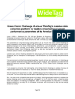 Green Comm WideTag Press Release