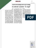 Rassegna Stampa 17.08.2013