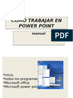 Manual Power `Point