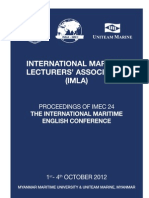 IMEC24 Conference Proceedings