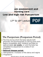 1001331 Postpartum Nursing Care