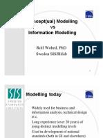 Conceptual Modelling