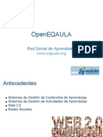 OpenEQAULA, Red Social de Aprendizaje
