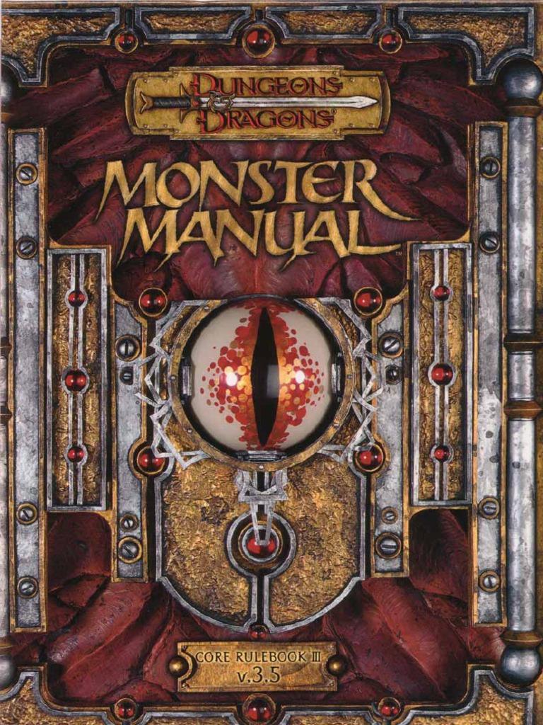 monster manual 3 5 rh scribd com Monster Manual PDF Monster Manual Pokemon